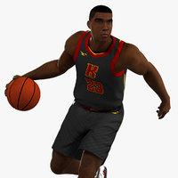 Black Basketball Player HQ 007