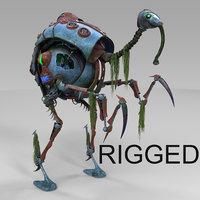 heron robot sci fi