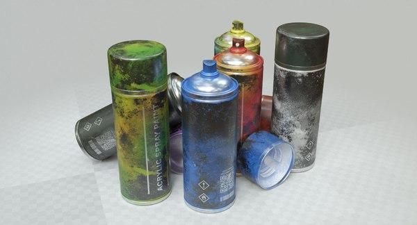 3D spray paint