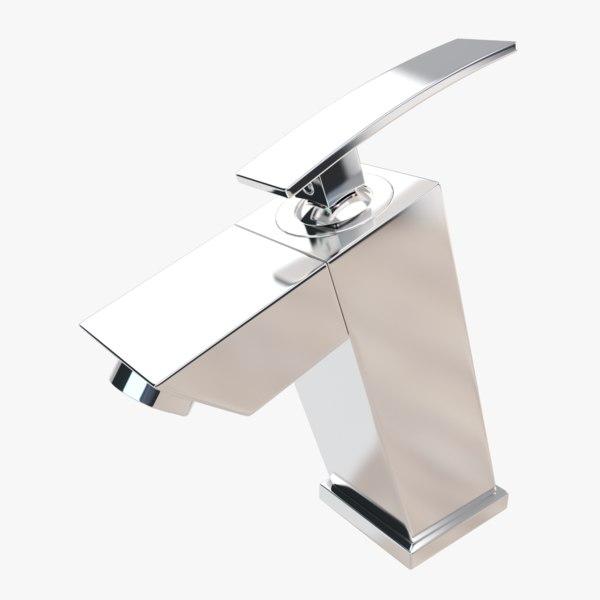 bathroom faucet 3D model