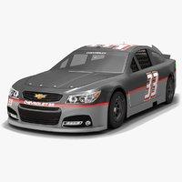 Chevrolet SS #33 NASCAR Season 2017 Race Car