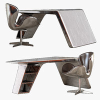 aviator desk 3D