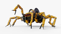 spider robot mechanical model