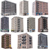 3D nyc buildings 10