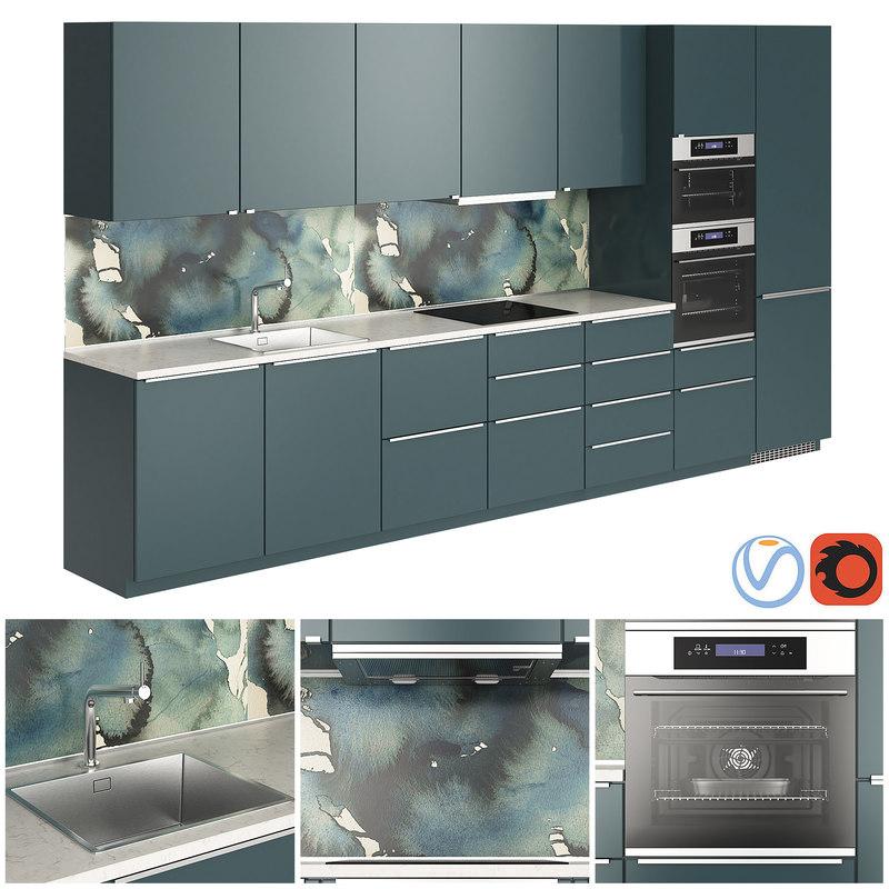 ikea metod kallarp oven 3D model