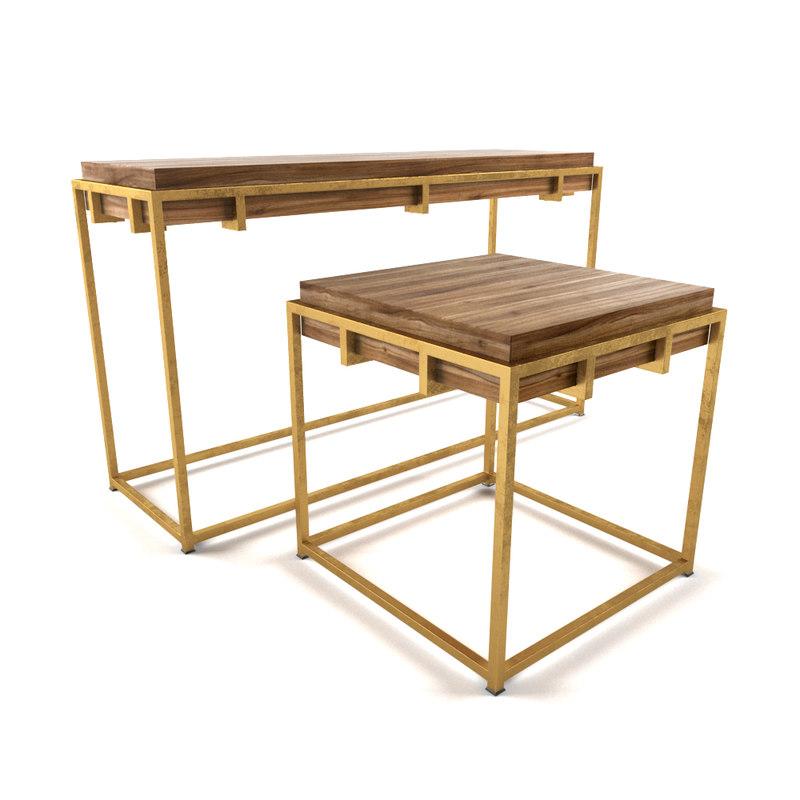 3D watkins table set brosa