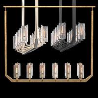 vendome linear chandelier 3D