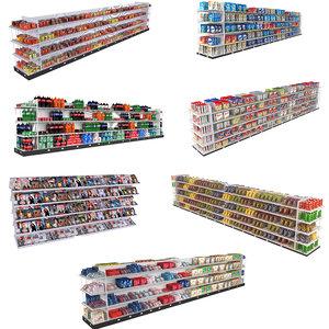 supermarket shelving model