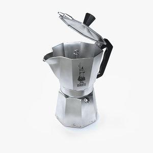 bialetti moka espresso 3D
