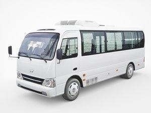 hyundai county deluxe bus model