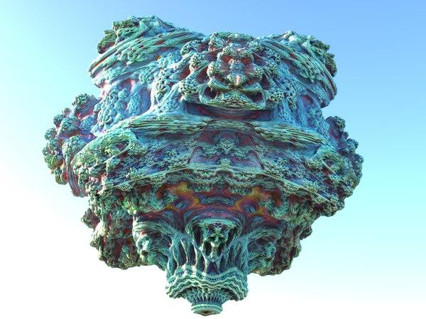 fractal scan hd 3D model
