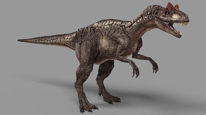 allosaurus 3D model