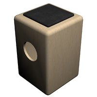cajon - birch percussion 3D