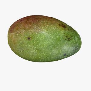 mango fruit 3D