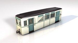 tram wagon model