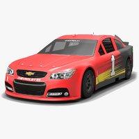 3D model chip ganassi racing nascar
