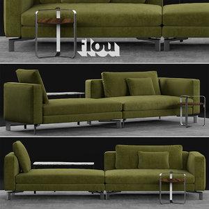 flou tay sofa 3D model