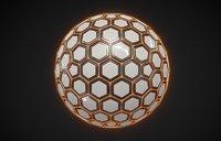 Sci-fi Hexa Sphere(1)
