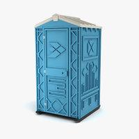 portable toilet model