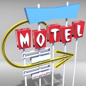 obj motel sign