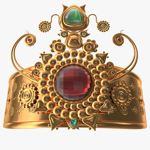 gold crown model