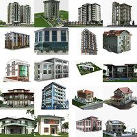 3D 20 building