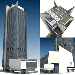 3D astor plaza