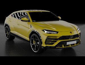 urus 2019 3D model