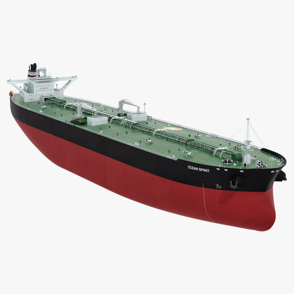 vlcc tanker boat model