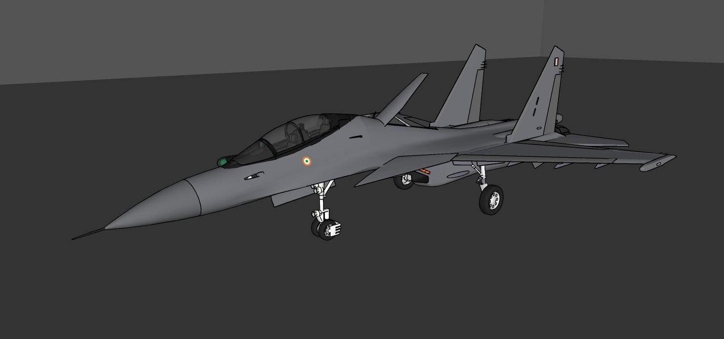 sukhoi su-30 mkm model