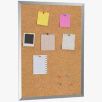 real cork board 3D model