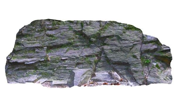 3D rock photoscan 8k model