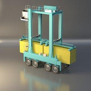 crane container 3D model