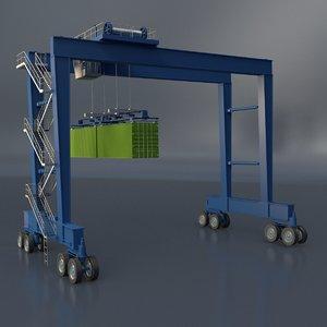 3D model port transport