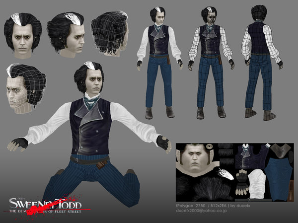 johnnydepp 3d 3D model