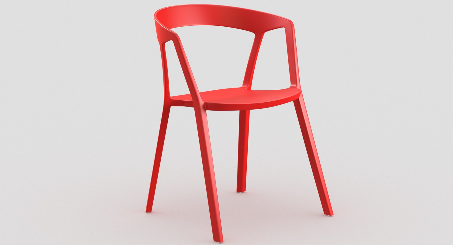 nomad chair 3D model