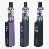 3D justfog q16 clearomizer model
