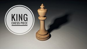 king piece 3D model