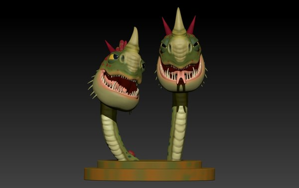 3D cremallerus espantosus