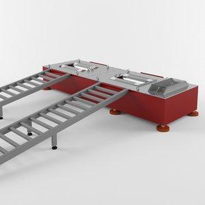 3D modular dynamometer model