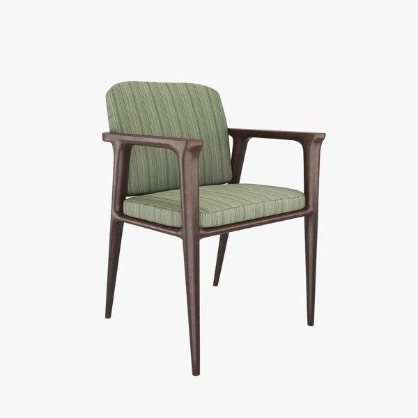 3D model chair v7