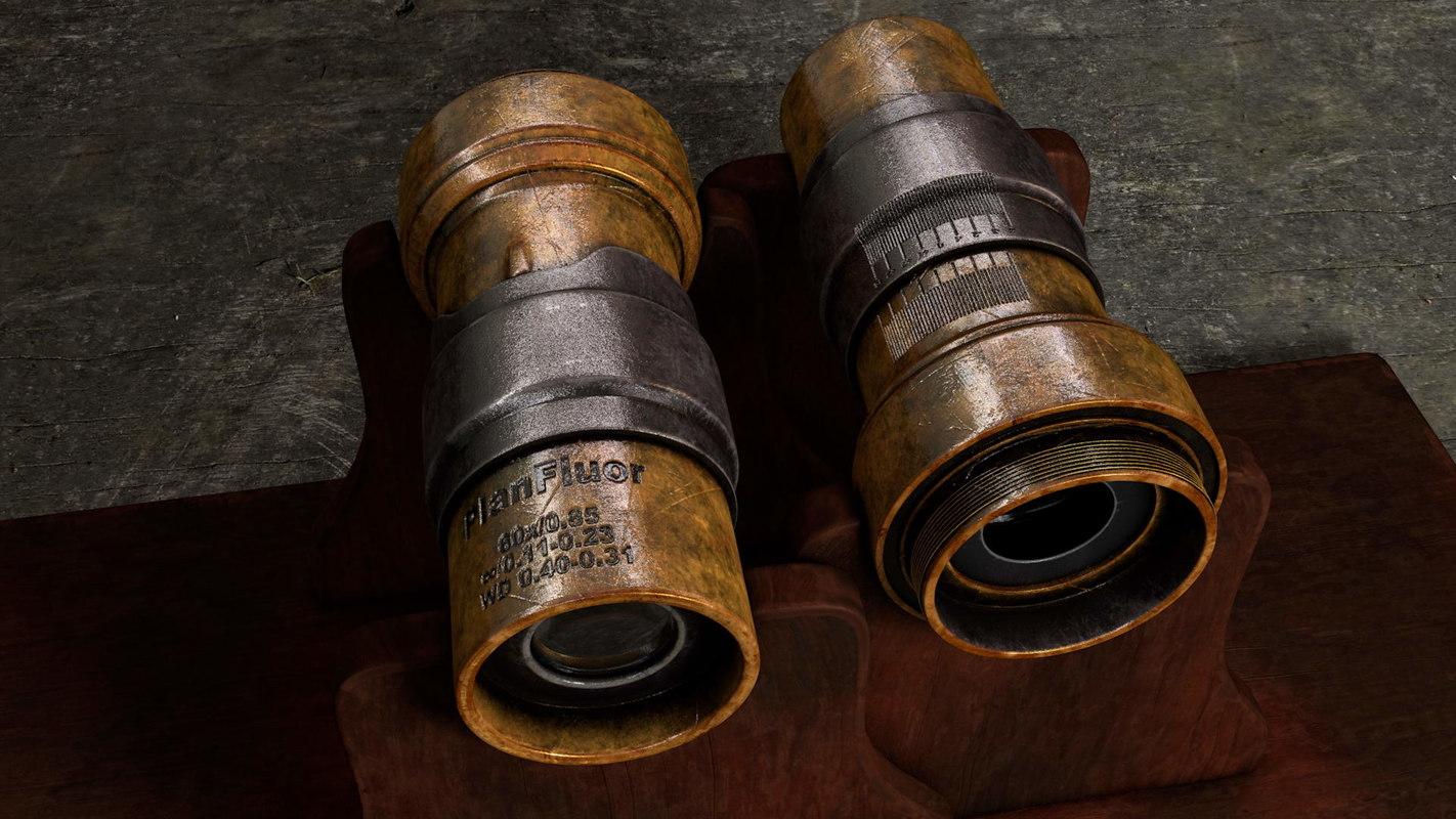 3D microscope objective