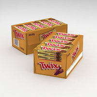Twix Bar 50g Bulk Package Box