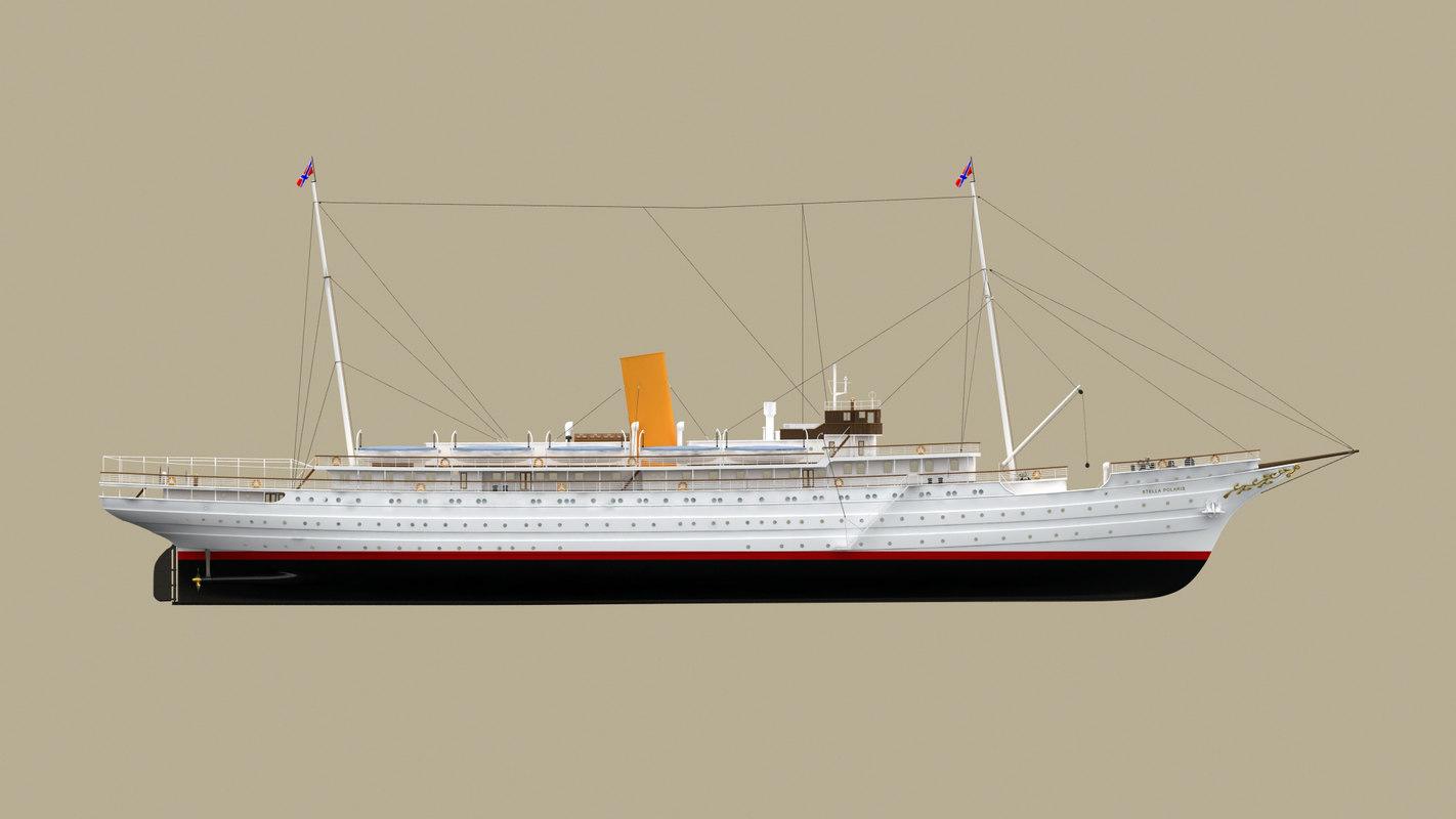 cruise ship stella polaris model