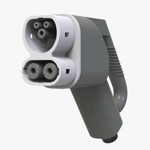 3D model ccs charger