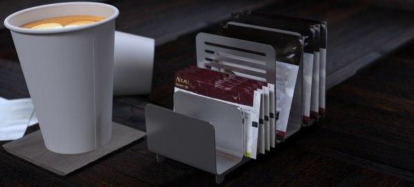 3D gourmet coffee holder