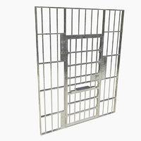 3D model prison