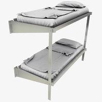 double bunk 3D model