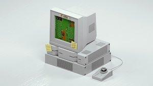 3D old pc 4k pbr model
