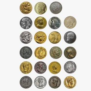 coins ancient greek model